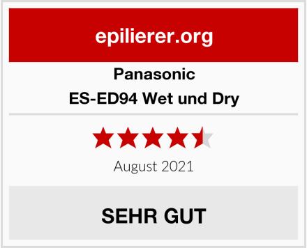Panasonic ES-ED94 Wet und Dry Test