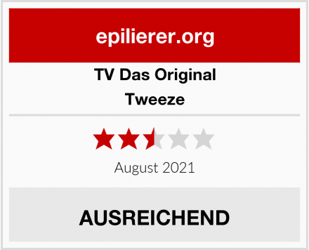 TV Das Original Tweeze Test