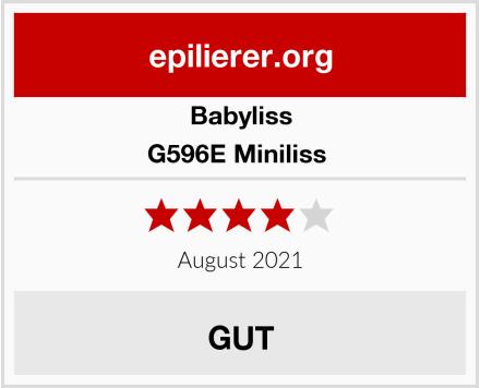 Babyliss G596E Miniliss  Test