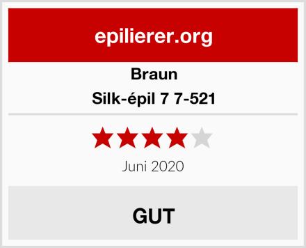 Braun Silk-épil 7 7-521 Test