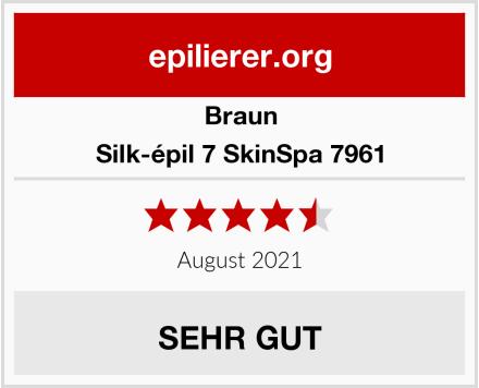 Braun Silk-épil 7 SkinSpa 7961 Test