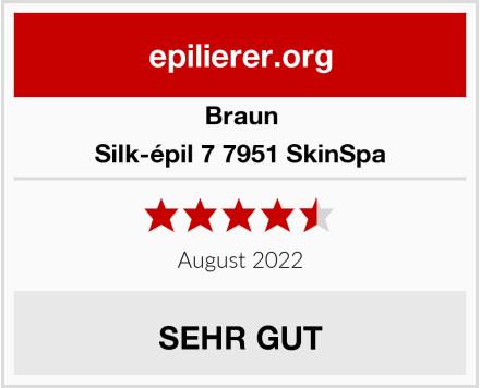 Braun Silk-épil 7 7951 SkinSpa Test