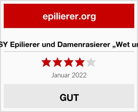 """HOCOSY Epilierer und Damenrasierer """"Wet und Dry"""" Test"""
