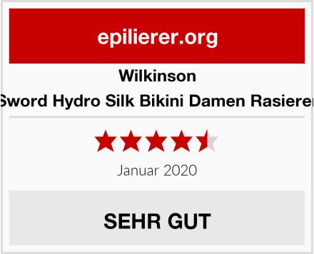 Wilkinson Sword Hydro Silk Bikini Damen Rasierer Test