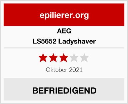 AEG LS5652 Ladyshaver Test