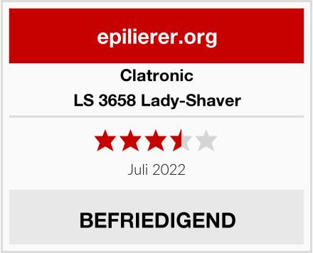 Clatronic LS 3658 Lady-Shaver Test