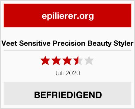 Veet Sensitive Precision Beauty Styler Test