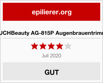 TOUCHBeauty AG-815P Augenbrauentrimmer Test