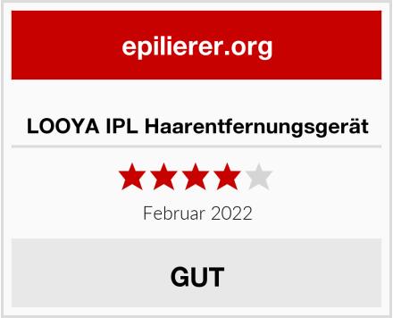 LOOYA IPL Haarentfernungsgerät Test