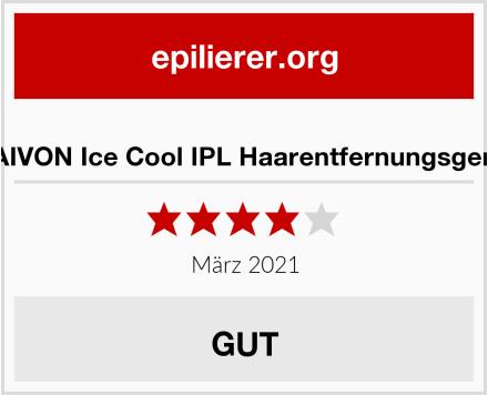 BAIVON Ice Cool IPL Haarentfernungsgerät Test
