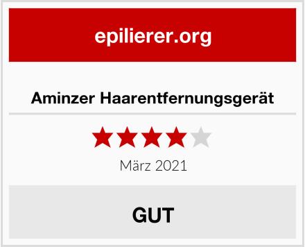 Aminzer Haarentfernungsgerät Test