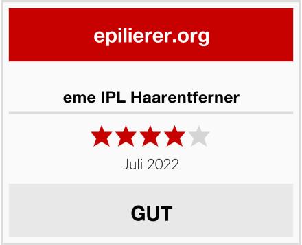 eme IPL Haarentferner Test