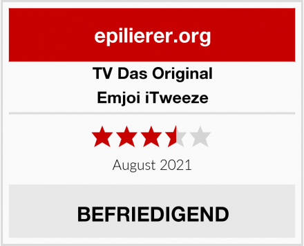 TV Das Original Emjoi iTweeze Test