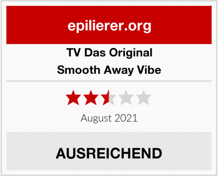 TV Das Original Smooth Away Vibe Test