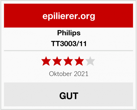 Philips TT3003/11 Test