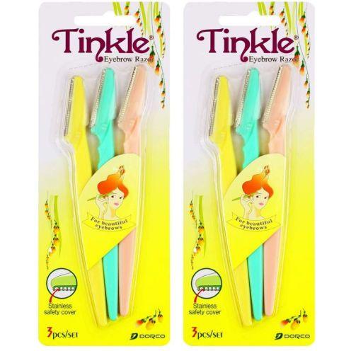 TINKLE 6pcs Augenbraue formendes Messer