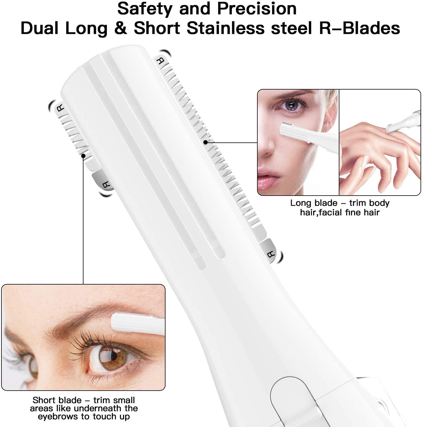 Augenbrauen Epilierer Test